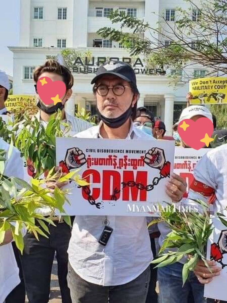 """GulfNation Myanmar🇲🇲{SaveMyanmar🙏} on Twitter: """"The popular actor Lu Min  was arrested under Section 505-A. His wife said live on Facebook that  police arrested last night. Lu Min, is one of six celebrities"""