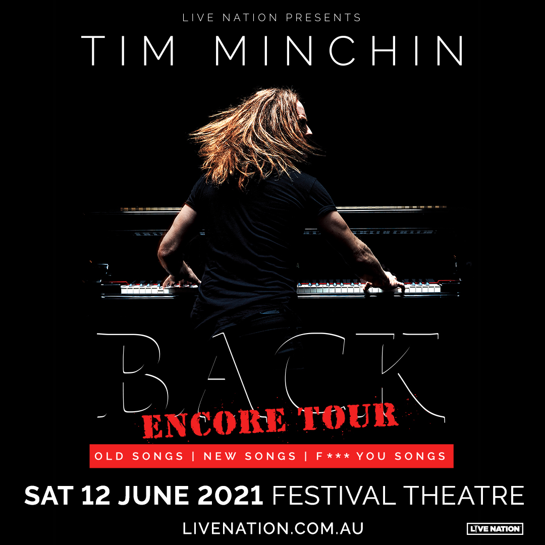 Hey South Australians! I love Adelaide and I'm bringing BACK back for an encore, as a part of the Adelaide Cabaret Festival, on Saturday 12th June.   Tickets on sale Wednesday 24th February at 12pm (AEDT) here: