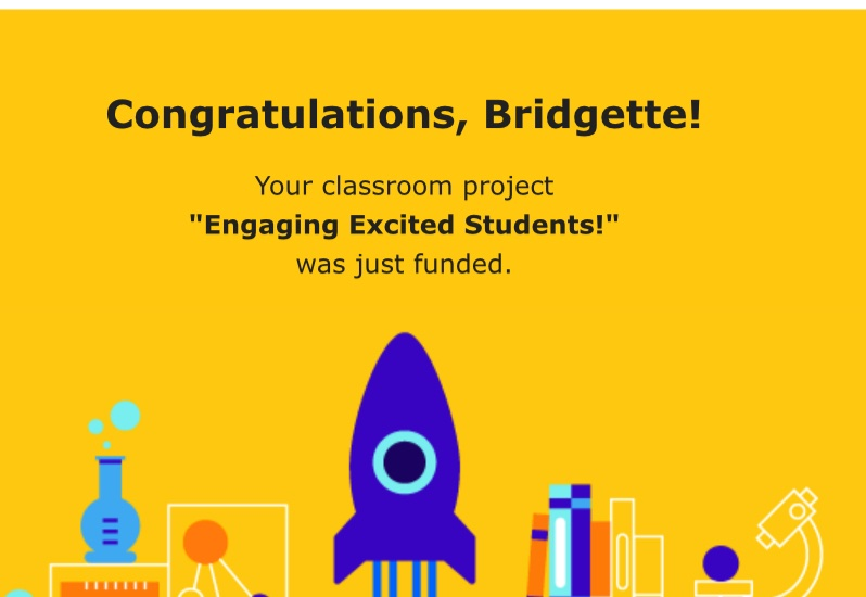 Fell asleep, and woke up to a rocket 🚀🚀🚀I canNOT say thank you enough to everyone for the Early Birthday Gift!! thank you so much @HelpingTeach  ❤️❤️ #KindnessMatters #KindnessSprinkles #BetterTogether
