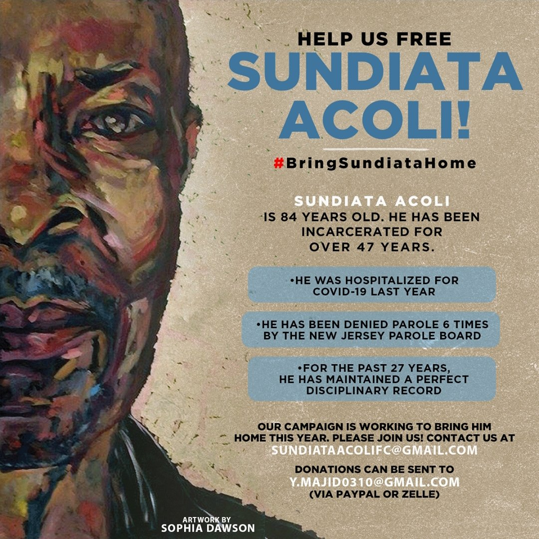 Ray Woods confession further exposes the United States denial that it has no political prisoners as an outright lie. Many of our brave freedom fighters like Sundiata Acoli who was a Panther 21 are in still in prison. We must demand their immediate release.