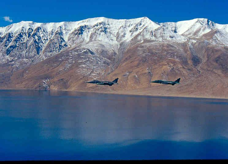 #SpotlightSunday  Stealthy felines on a prowl.  #Jaguars along the Northern Frontiers.  Forever ready...  #IndianAirForce