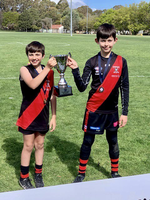 Congratulations to Eliot C and Riley B who have both been invited to join the squad for the GWS Giants Development Academy!