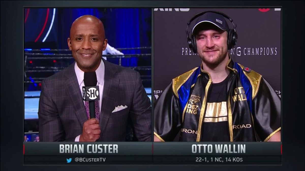 """""""I think speed was the difference."""" - @OttoWallin #BronerSantiago"""
