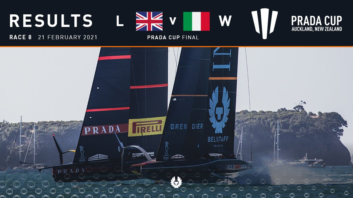 #PRADACupFinal | Result 🇮🇹 win the #PRADACup on race day 4, taking the series 7-1.