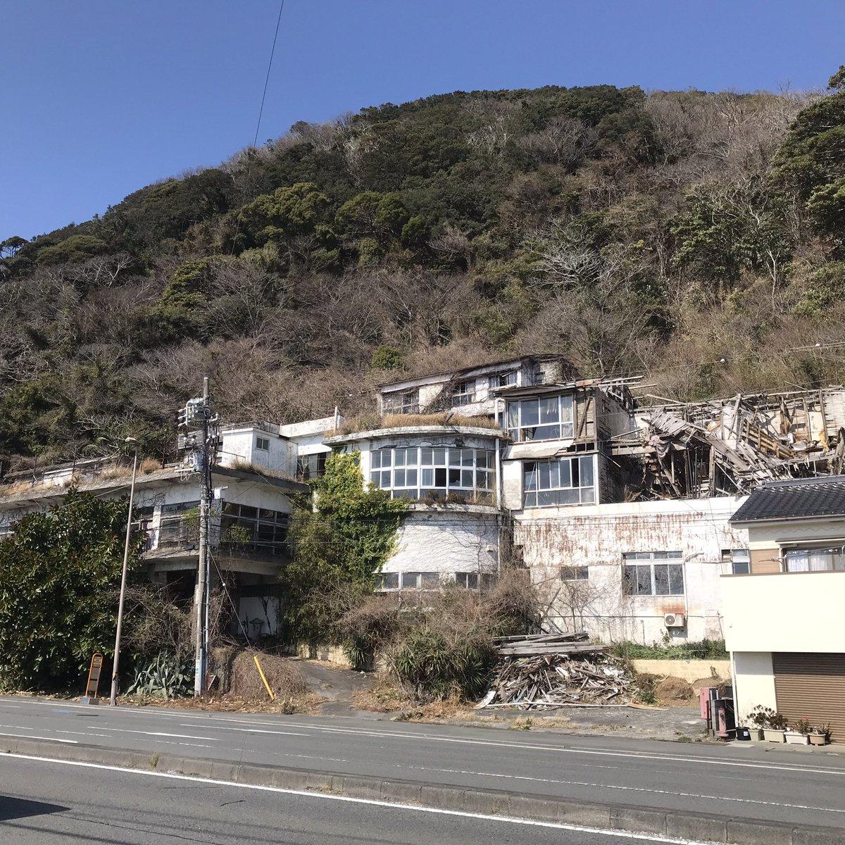 富士屋 ホテル 下田 世界の怖い夜の呪われた廃ホテルロケ地場所はどこ?サンシャイン池崎