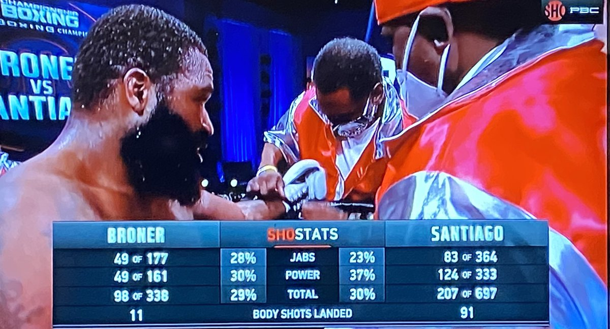 115-112, 116-111 and 117-110 all for Broner.   Here are the punch stats