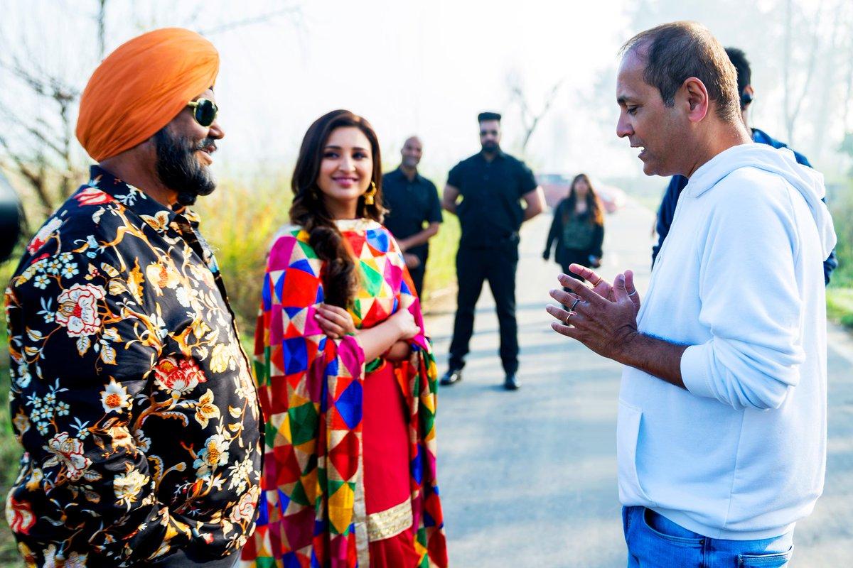 Capturing and preserving emotions & cherished memories from the shoot of Namaste England.  #VipulAmrutlalShah @ShefaliShah_ @Aashin_A_Shah  #SunshinePictures #BTS #NamasteEngland #ParineetiChopra #BehindTheScenes #OnSet #Bollywood #Movie   @ParineetiChopra @satishkaushik2