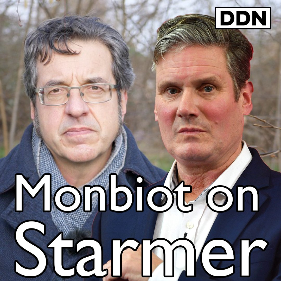"""You've got to stand up and say here is the alternative vision, here is how we can rebuild this nation into something completely different… and it frustrates me to see Keir Starmer just dithering""  - @GeorgeMonbiot"