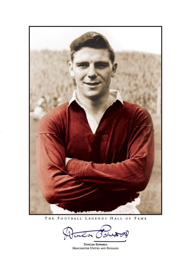 "As my friend 'old John' often said: ""The Greatest I've ever seen""  01/10/36 - 21/02/58  #RIPDuncan 🌹 #FlowersOfManchester"