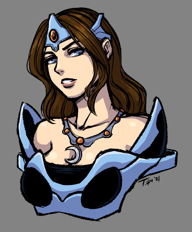 Mirana. Invisible cat lady with big, hurty arrow. #dota2 #dragonsblood