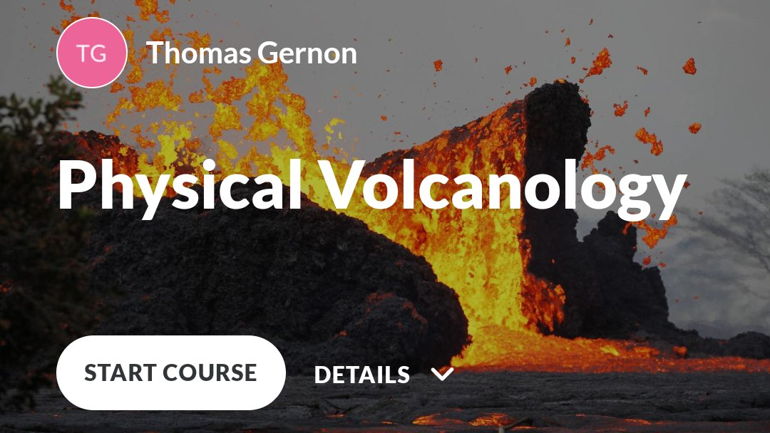 Excited this week to be launching my new #interactive @Articulate #volcanology course for my third year #geoscience #students at @OceanEarthUoS @unisouthampton 🗻🌏🌋 Special thanks to the amazing @clivetrue for providing the inspiration