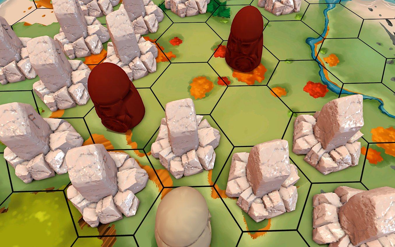 Ragnarocks tablero de juego y tribus