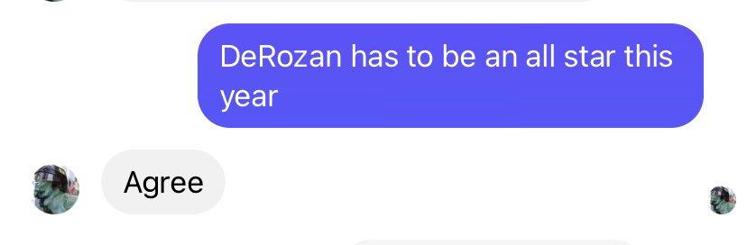 Chatting with my high school basketball coach.✌️  #gospursgo #DeMarDeRozan