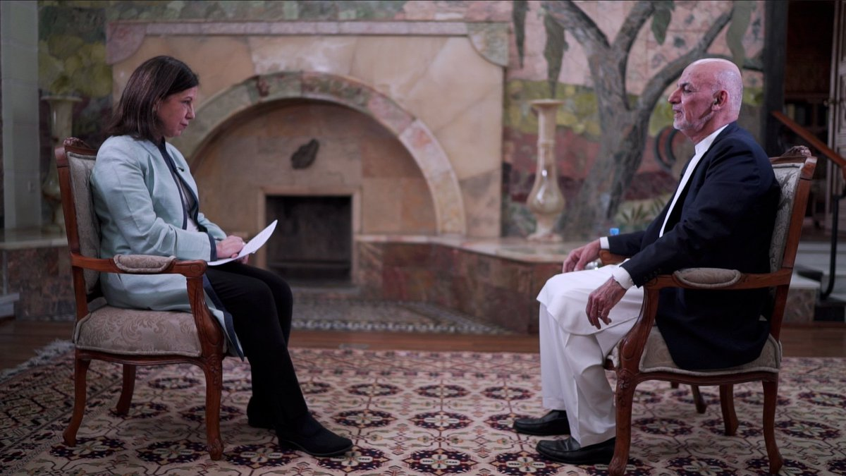 The President in the palace... @ashrafghani on the year where peace will be won...or lost . #Afghanistan Monday on @BBCWorld @d_a_v_e_bull @tonyprod77 @Mahfouzzubaide1