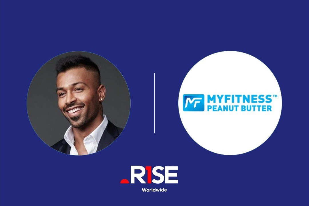 .@hardikpandya7 🤝 My Fitness  We're excited to announce our talent Hardik Pandya has partnered with My Fitness. We look forward to a fruitful collaboration.  #RiseAsOne #myfitnesspeanutbutter