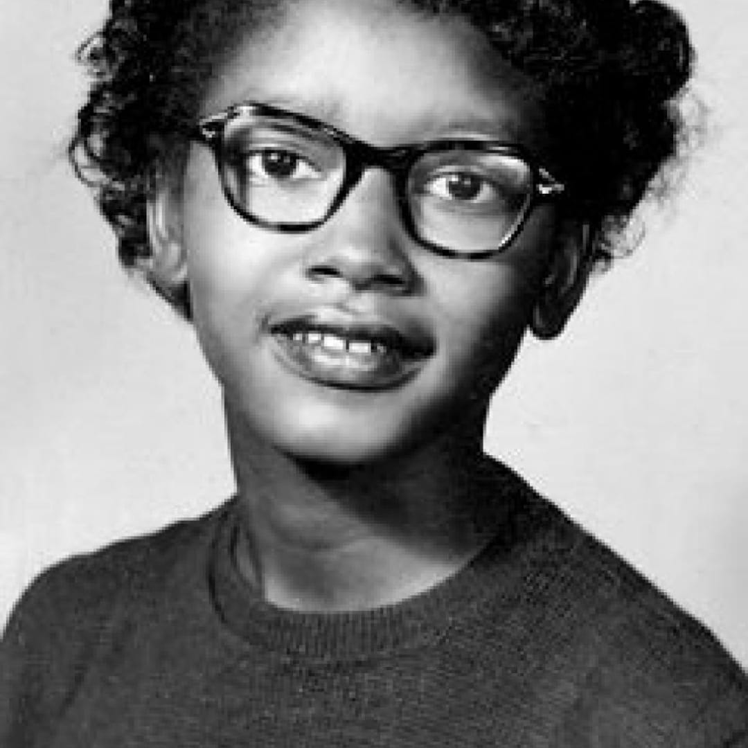 Few people know the story  Claudette Colvin: When she was 15, she refused to move to the back of the bus and give up her seat to a white person — nine months before Rosa Parks did the same thing.  Celebrating those who walked so we could run. Black Heritage Month  #blackhistory