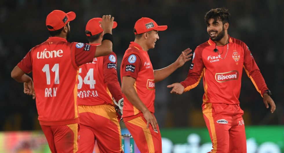 Shadab Khan signed-up to play in The Hundred