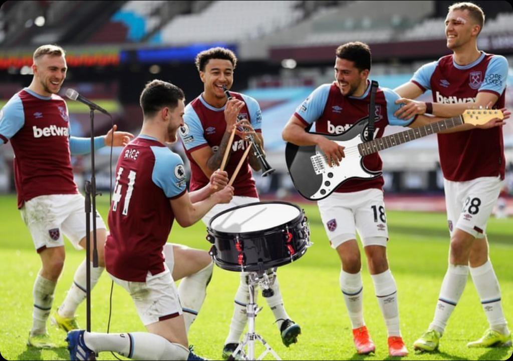 Replying to @_DeclanRice: The Band Has Arrived🤩🔥🤫