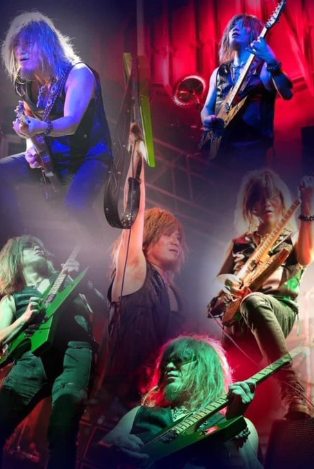 Loudness on Guitar Akira Takasaki 1961.2.22 60years old  Happy Birthday!!Rock!!!