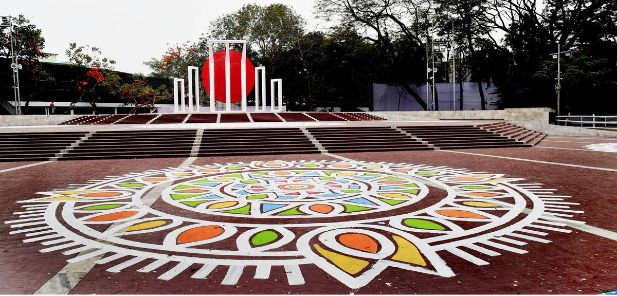 .@albd1971 pays its homage to the #language martyrs, Father of the Nation and language activists on this #MartyrsDay. In 1999 @UNESCO approved #Bangladesh's proposal to observe #IMLD annually on 21 Feb. Thus, #AmarEkushe is now a resolve to save & preserve all #motherlanguages.