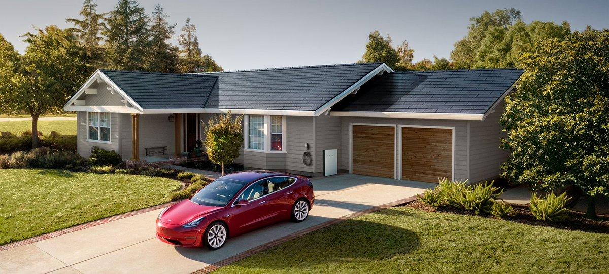 @Tesla and looks amazing too