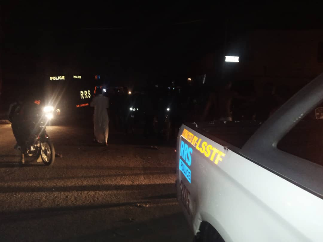 Our officers are on convoy patrol of Agege.