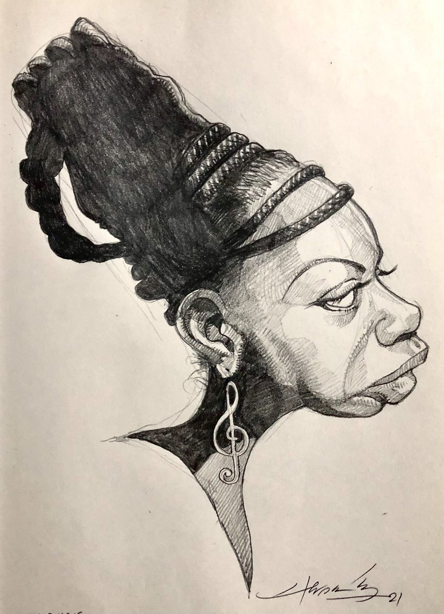 @monerohernandez's photo on Nina Simone