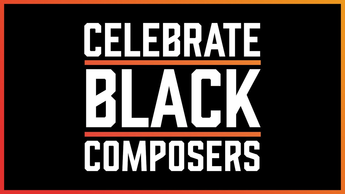 Were celebrating #BlackHistoryMonth by celebrating Black Composers! We put together a playlist highlighting our favorite pieces by Black Composers working in the Film, TV, and Video Game world: lnk.to/blackcomposers… 🎶🎥
