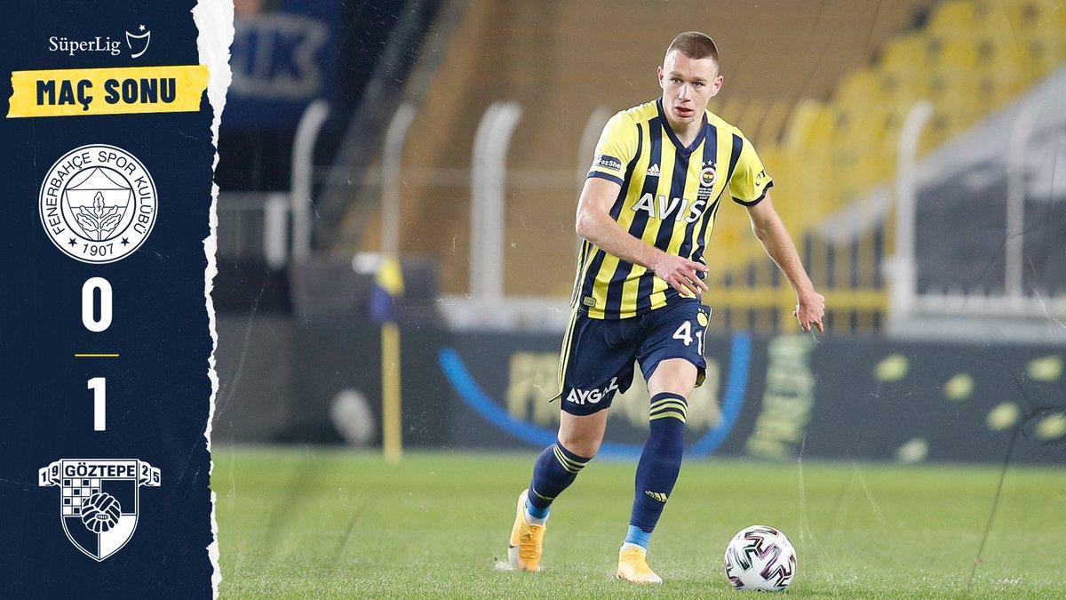 MS   Fenerbahçe 0-1 Göztepe https://t.co/AaLXIcBrQK