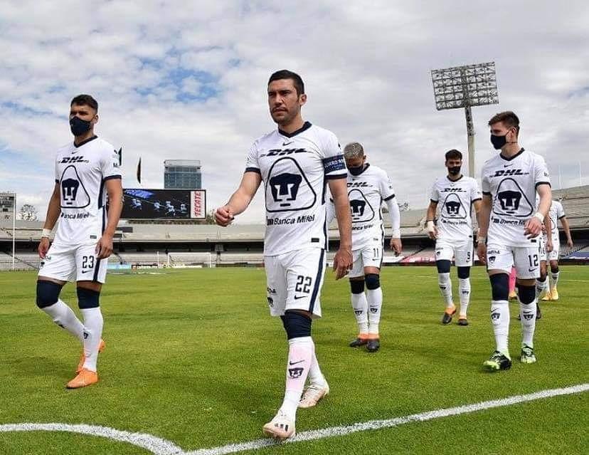 ¡POR EL INVICTO!  Si Pumas no pierde hoy contra León, se habrá conseguido la marca de un año sin perder en casa.  A DEFENDER LA FORTALEZA. 🔥⚽🐾 https://t.co/wVpMLvRMY0