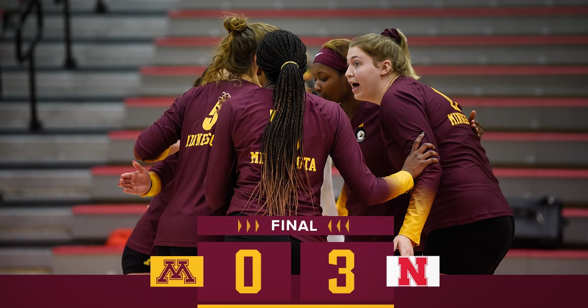 #Gophers fall today, split the weekend. https://t.co/KLfqyM21Xx