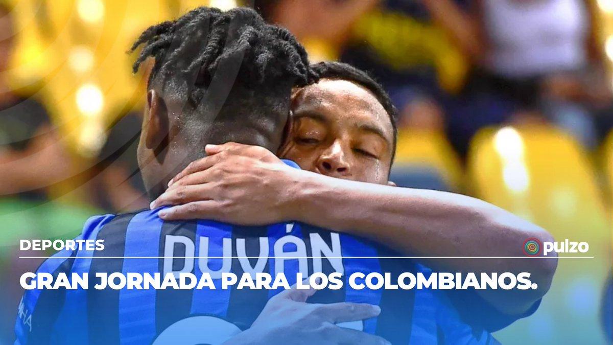 #Video Conexión colombiana: golazos de Zapata (@DuvanZapataCF) y Muriel (@LuisFMurielCF) en triunfo de Atalanta (@Atalanta_BC) ante Napoli (@sscnapoliES) 👉🏻  https://t.co/Gbz5HNVEn3 https://t.co/QQIulsStbI