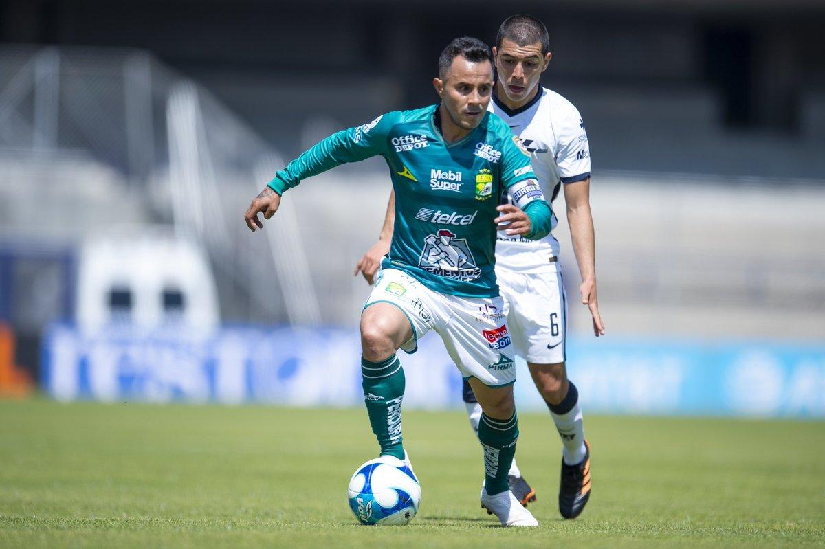 O La Fiera tem 10 jogos consecutivos marcando contra o Pumas, seja em León ou na Cidade do México 🦁 👏👏👏 https://t.co/0ZqPCMPu14