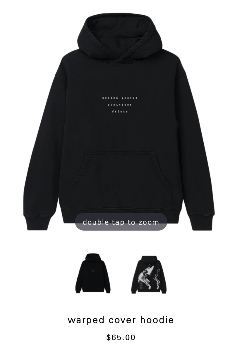 POSITIONS DELUXE MERCH GIVEAWAY ✨✨ •Warped Cover Hoodie 🖤 •Been Drinking Coffee Mug ☕️ •Can You Stay Up All Night Hat🧢   $110 USD VALUE 💸💸  RULES: •Follow me @simpinforariana  •Retweet 🔁🔁 •Comment when done ✅  *I will be checking*  Winner announced March 1 🖤🖤