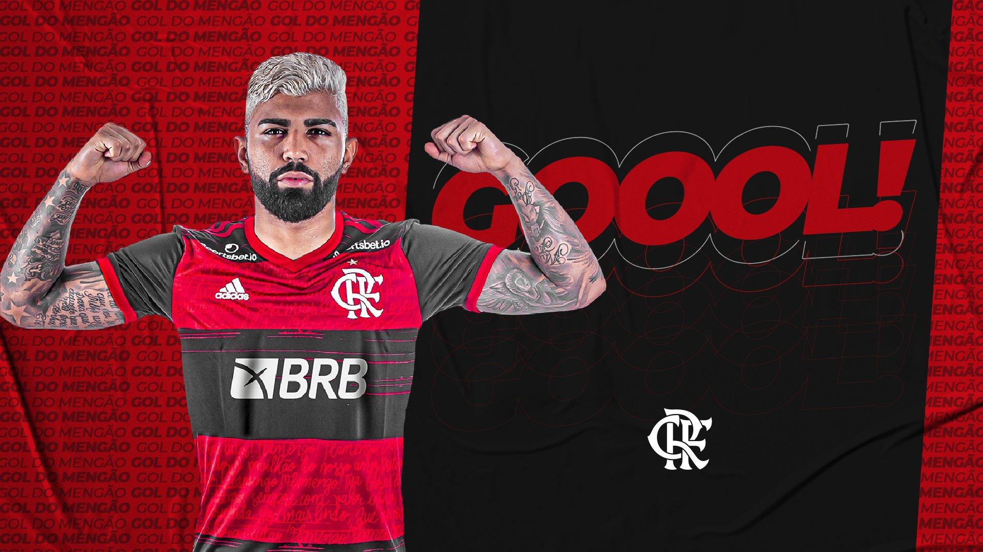 GOOOOOOOOOOOOOOL! Gabigol coloca o Flamengo na frente do placar!