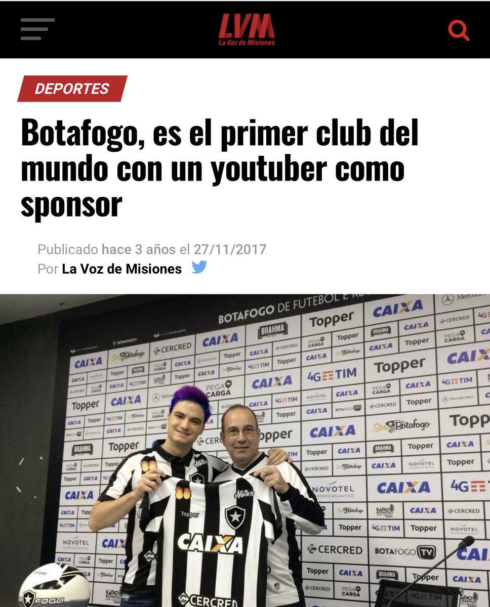 Se teve um dinheiro bem gasto na minha vida foi patrocinar o Botafogo.  Repercussão internacional, prêmio, um marketing monstruoso!  O retorno do investimento foi imenso! Mas a zoeira foi bem pensada.