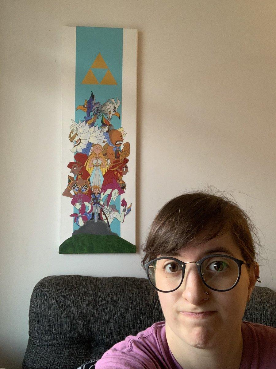 Laura es fanática de los videojuegos de Nintendo, como los Zelda entrevista