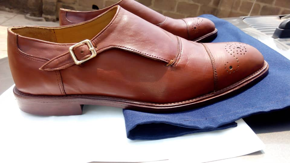 Single monk strap loafers in brick brown calf leather Contact @tidam_ for this and other leather accessories. #men #tidam #gift #hip #ojo # Lagos #leatheraccessories #shoe #Nigerianmade #Nigeria #abuja #oyostate gift office