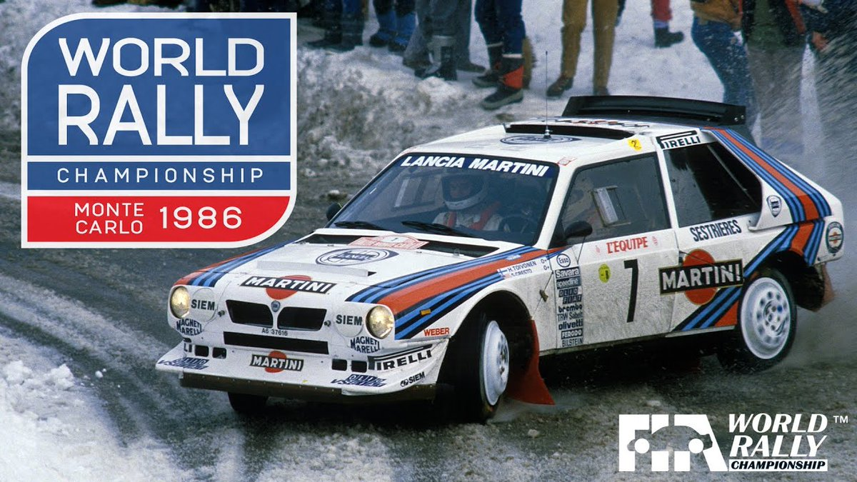 ☕️ Good morning!   How about some Group B action from Rallye Monte-Carlo 1986 to start your week? Hold on tight!   Tap here to play 🔗   🇲🇨 @OfficialWRC | @ACM_Media | #WRCjp | #WRC | #RallyeMonteCarlo 📹 @DukeVideo