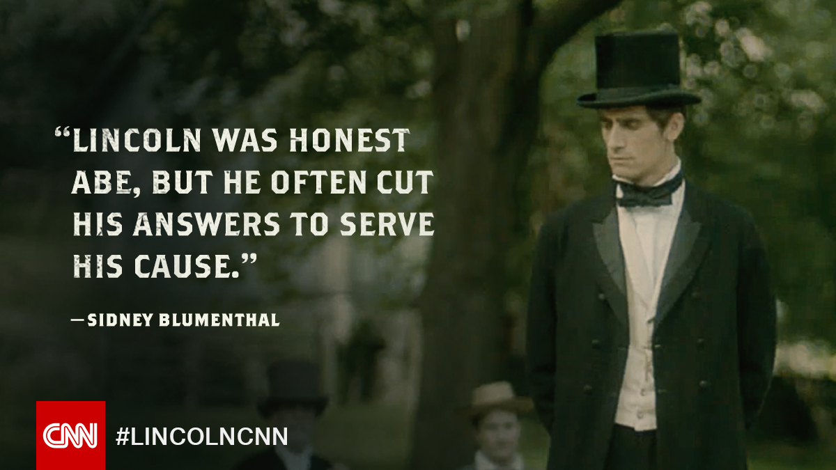 It's been said that there were two sides to Lincoln. One that was a model of moral perfection and the other which was a political mastermind. Lincoln: Divided We Stand, continues tonight at 10 p.m. ET/PT #LincolnCNN