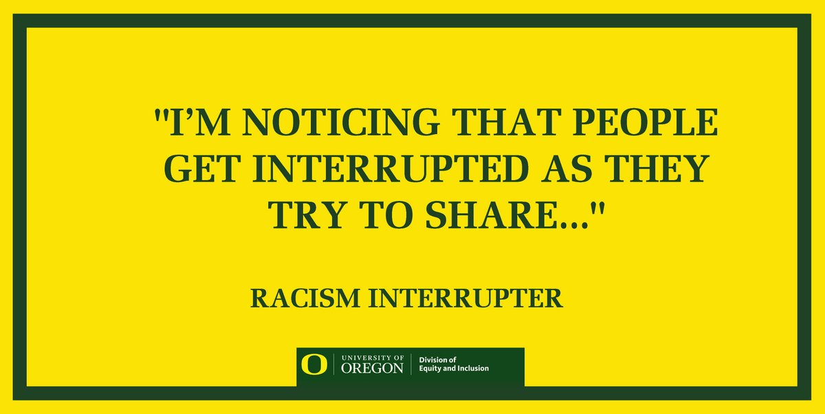 You can interrupt racism. #notonmywatch #interruptracism #antiracism #blm #notonmywatch #interruptracism #antiracism #blm @antiracismdly @UO_CMAE @uoregonmcc @UOMuxeres @UOMecha @UOREGONBSU @BWAuofo @UO_BMA @UOAPASU @UONASU @UOsojc @UOLGBTESS