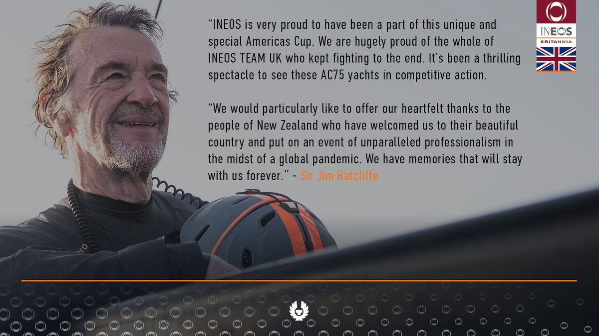 View From The Boss | Sir Jim Ratcliffe, @INEOS Chairman 🇳🇿❤️#AmericasCup