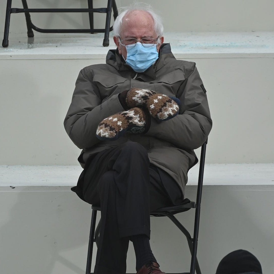 Here is your Daily Bernie. Y'all welcome. #DailyBernie #Bernie #berniemittens #berniesmittens #BernieSandersMittens #BernieSandersmemes #BernieSanders #berniememes2021 #berniesandersmeme