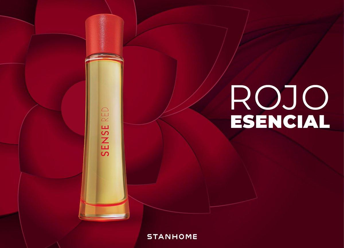 El color rojo se asocia a fortaleza, pasión y amor 🔴✨ Eso es la fragancia... 🌬️ Sense Red  Déjate envolver por su aroma oriental frutal, con un velo sensual y transparente de jazmines y freesia, y el intenso aroma de cedro y ámbar egipcio. https://t.co/ui7bZdtOYj