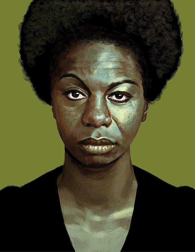 @oleismos's photo on Nina Simone