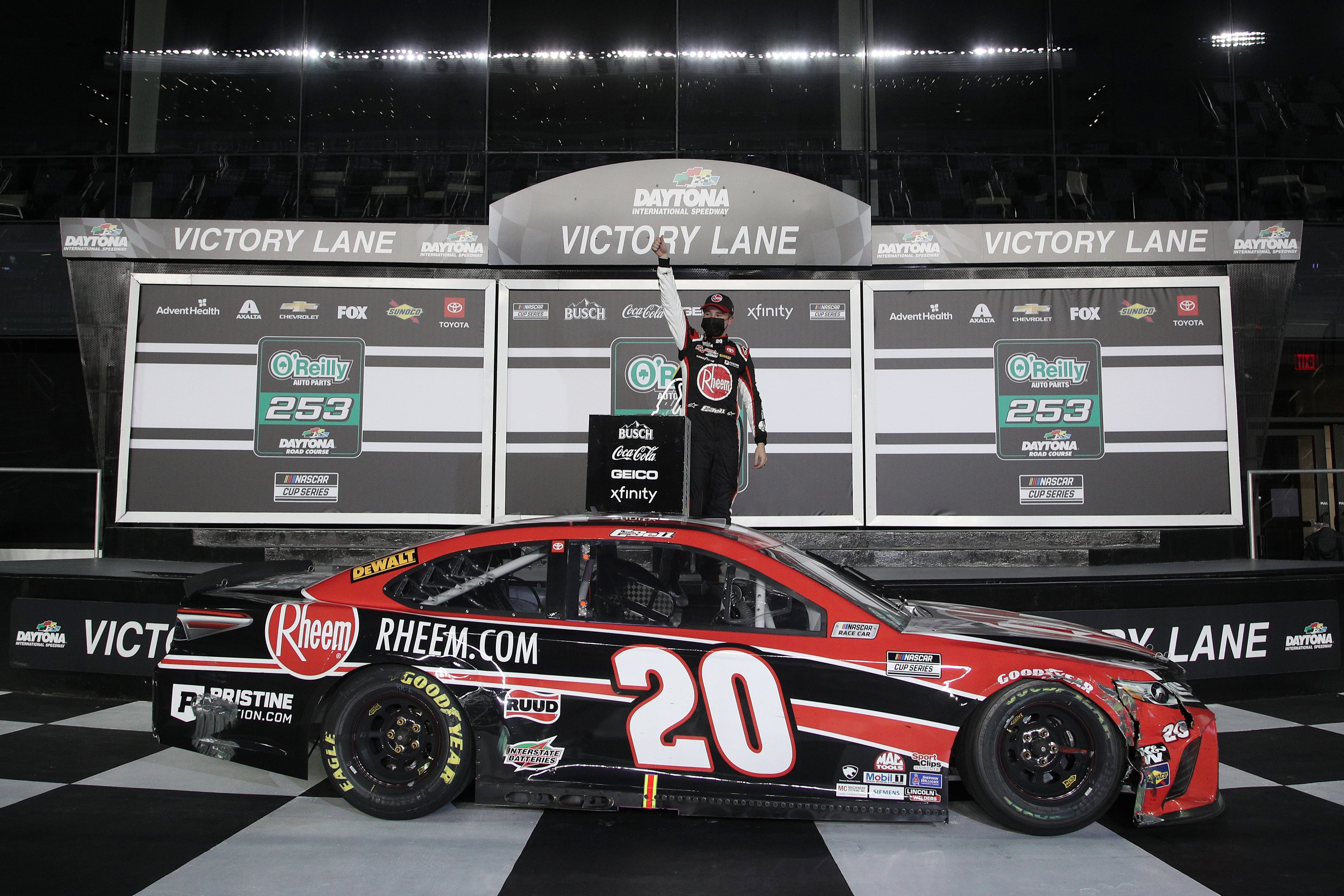 Bell clinches first Cup Win at Daytona