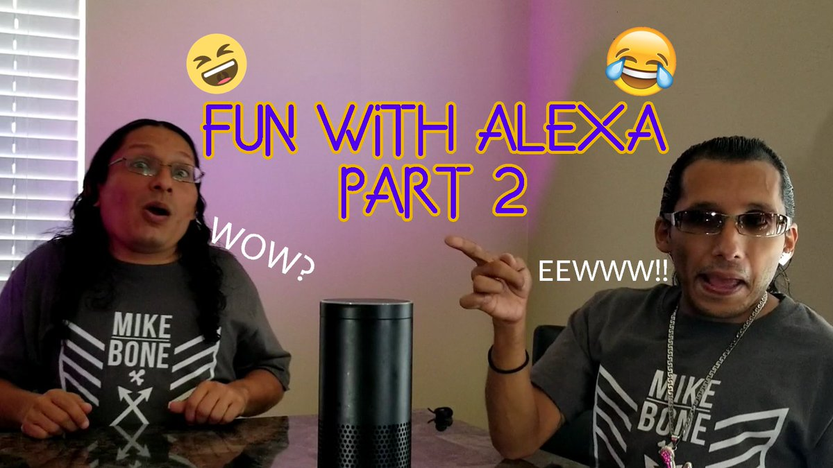 FUN WITH ALEXA!🤣😁😂  Watch PART 2 Now!!!!   #WatchNow #YouTube #lol #NowWatching #AskAlexa #Goodtimes #Fun #LaughterisTheBestMedicine #Alexa #WATCH #Laugh #MustWatch #Laughter #MustSee #TryNotToLaugh