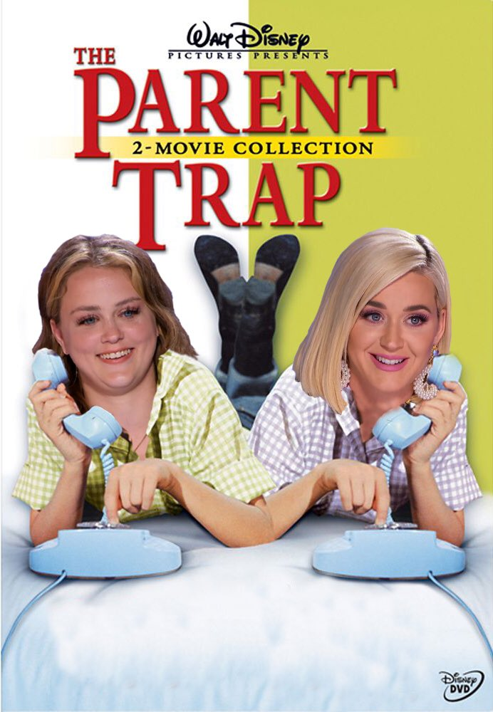 Replying to @katyperry: LIKE THIS TWEET TO PETITION @DISNEY TO DO A REMAKE OF THE PARENT TRAP 👯♀️ #AmericanIdol