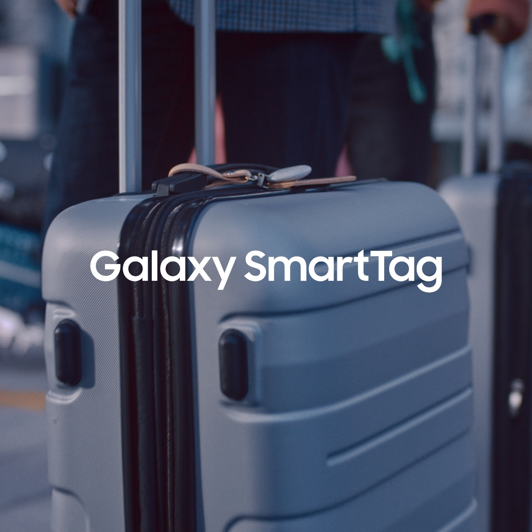 It's easy to confuse similar looking suitcases, but finding yours is easier now with #GalaxySmartTag.  Learn more: