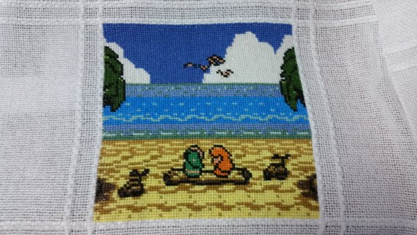 Sirithre - I've actually done quite a bit of cross stitch of the Zelda series, huh?  Which one's your favorite? Did I include it in these tweets? I know I didn't get everything 😂